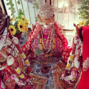 The temple at Bhandirvan where Lord Brahma perfoms marriage of Radharani and Krishna