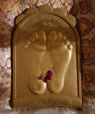 Lotus Feet Imprint of Srila Prabhupada