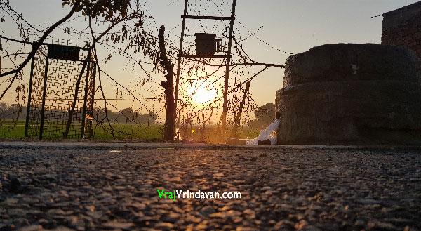 Sunset-in-Vrindavan